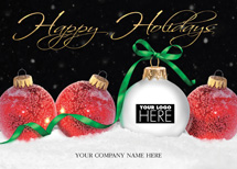 Holiday Display Holiday Logo Cards